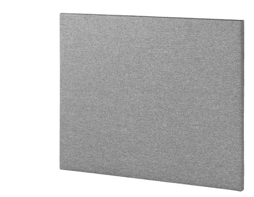 Sengegavl BASIC H5 140 plain grå
