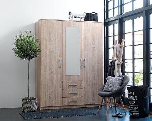 Kleiderschrank VINDERUP 150x200 cm