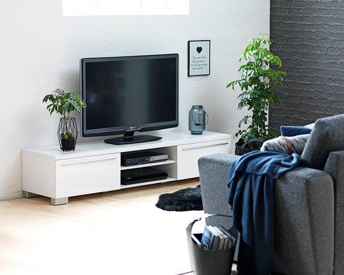 Sofá cama chaise longue VEJLBY gris