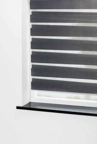Rolós függöny duo IDSE 100x180cm szürke