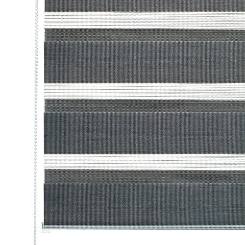 Roleta duo IDSE 100x180 šedá