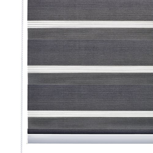 Roller blind Duo ALSTEN 80x180cm grey