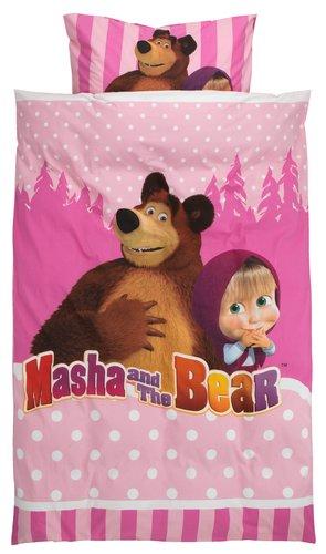 Obliečky MASHA AND THE BEAR
