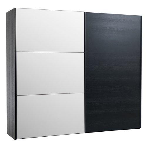 Kleiderschrank TARP 250x221 Spiegel schw