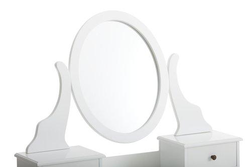 Schminktisch MALLING mit Spiegel weiß