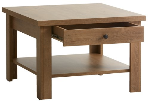 Coffee table MANDERUP 80x80 wild oak