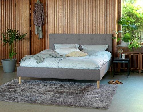 Sänkykehikko MILLINGE 180x200 v.harmaa
