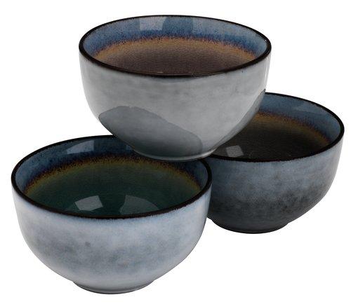 Castron LAUKE 12x7cm ceramică var.