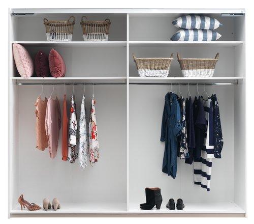 Shelves TARP 123x46 2 pack white