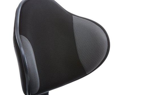 Uredska stolica REGSTRUP crna/siva