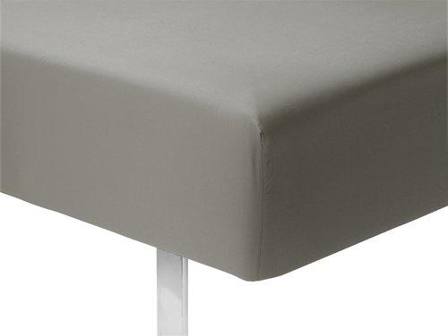 Cearsaf elastic 90x200x25cm gri