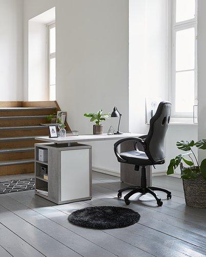 Bureaustoel AGGESTRUP grijs/zwart