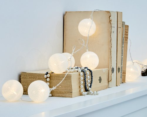 Lampice KAARE bijela s 20 LED