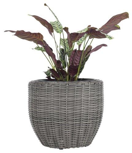 Garden planter SVARTBAK D42xH36 grey