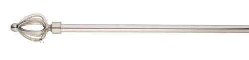 Gardinstang TULIP 160-300cm stål