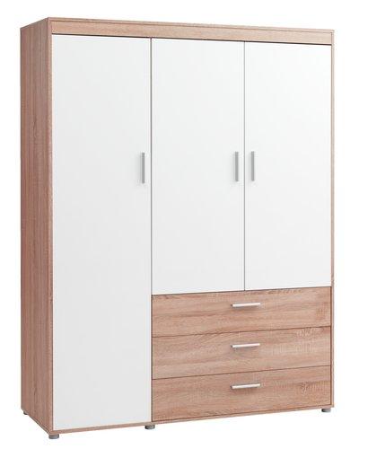 Garde-robe BIRKELSE 50x198 chêne/blanc
