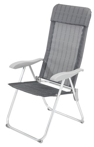 Recliner chair THORSMINDE grey