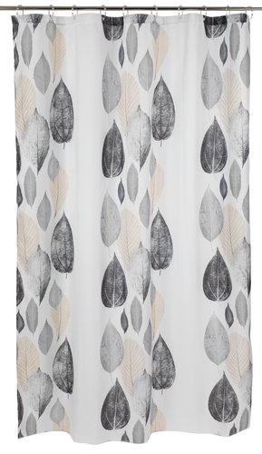 Shower curtain NYLAND 150x200 grey