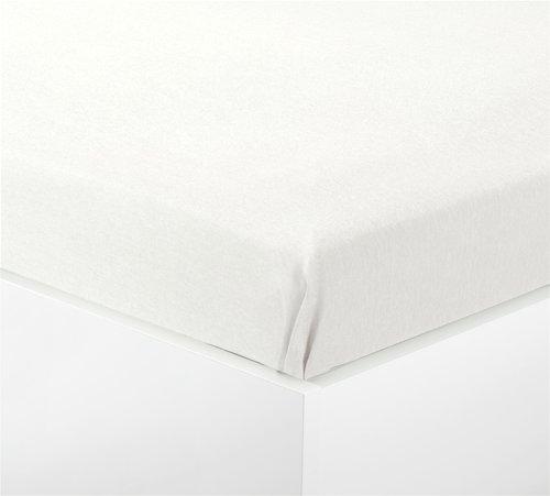Plahta flanel 100x140cm bijela