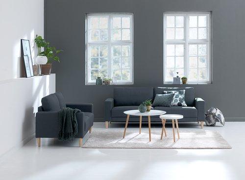Sofa EGENSE 2-seter grå