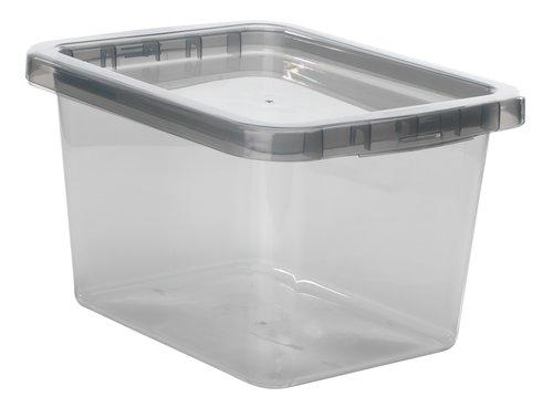 Contenitore BASIC BOX 9Lcoperchio grigio