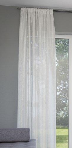 Κουρτίνα LOPPA 1x135x245 πτυχές υπόλευκο