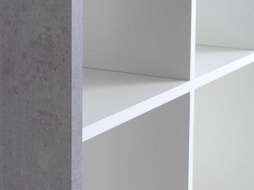 Rumsavdelare HALDAGER 16 hyllor betong/v