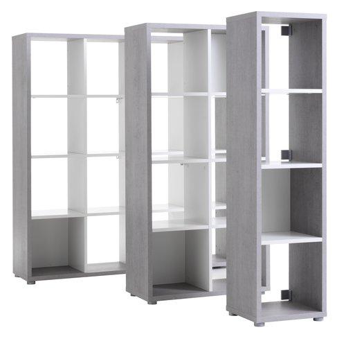 Separator cameră HALDAGER 16 beto/alb