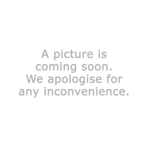 Coffee table HAARBY D65 cm marble/black