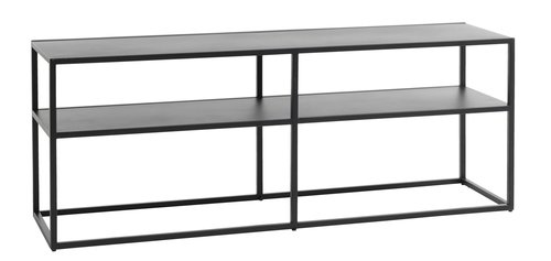 TV bench VIRUM black