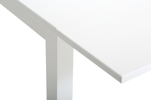 Sklopivi stol NORDBY 80x70/120 bijela