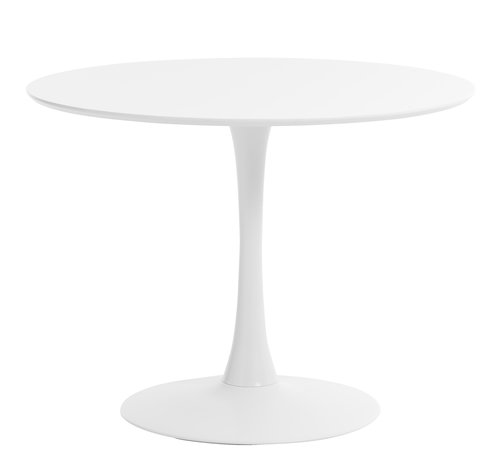 Dining table RINGSTED D100 white