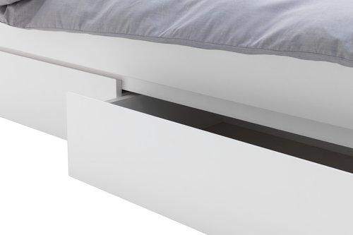 Okvir kreveta LIMFJORDEN 90x200 bijela