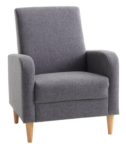 Armchair GEDVED grey