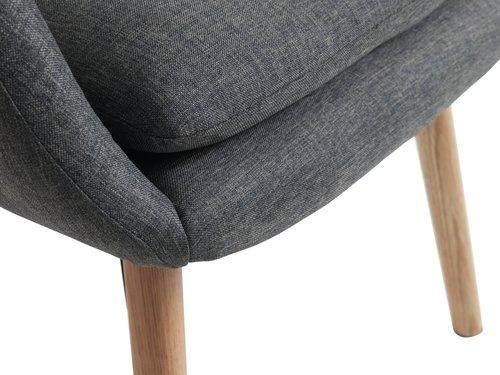 Armchair UDSBJERG grey