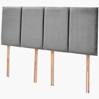 Headboard H50 STITCHED SKNG Grey-43