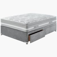 Divan Base PLUS D10 4 drw DBL Grey-37