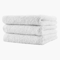 Bath towel FLISBY white