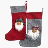 Коледен чорап TJALFE 30x50 см асорти