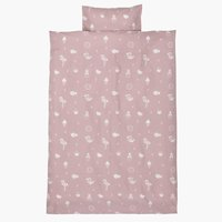 Duvet cover KLARA JUN rose