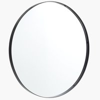 Spiegel MARSTAL Ø70 schwarz