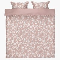 Bedding set DAGMAR Sateen DBL rose