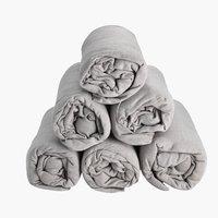 Jersey sheet SGL grey