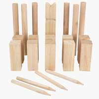 Game OKERFLY kubb wood