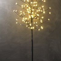 Light tree BYLEIST H150cm w/flowers LED