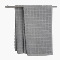 Bath towel KARBY 65x130 light grey