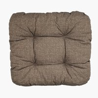 Coxim assento HASSELURT 40x40x8 castanho
