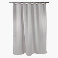 Shower curtain SIBO 180x200 waffle