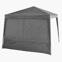 Gazebo side JERUP grey