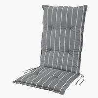 Hagepute TAGMARK reg.bar stol grå